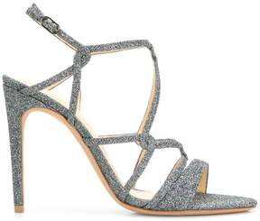 Alexandre Birman glitter strappy sandals