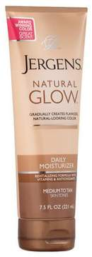 Jergens Natural Glow Revitalizing Daily Moisturizer Medium to Tan