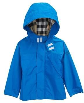 Burberry Yeoman Hooded Taffeta Windbreaker Jacket