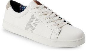 Ben Sherman White Lorin Signature Low Top Sneakers