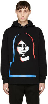 Givenchy Black Abstract Girl Hoodie