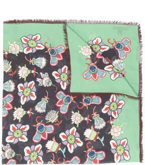 Valentino printed wrap scarf