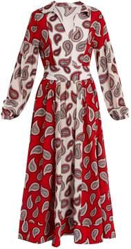 DAY Birger et Mikkelsen DODO BAR OR Harrison paisley-print silk midi dress