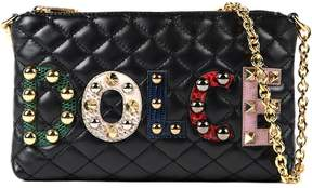 Dolce & Gabbana Micro Shoulder Bag - BLACK - STYLE
