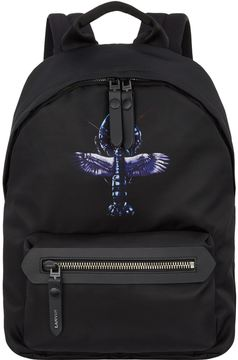 Lanvin Flying Lobster Zipped Backpack