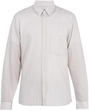 Acne Studios York striped cotton shirt