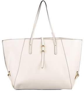 Zac Posen Leather Large Handle Bag
