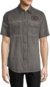 Affliction Men's Richland Cotton Button-Down Shirt