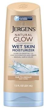Jergens Natural Glow Wet Skin Moisturizer Fair/Medium 7.5oz