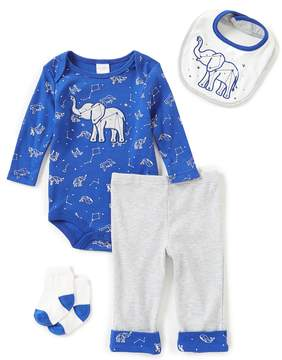Starting Out Baby Boys Newborn-9 Months Elephant Constellation 4-Piece Layette Set
