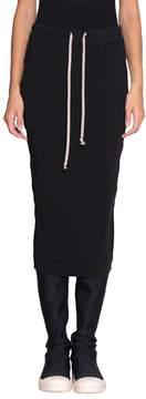 Drkshdw Cotton Pillar Skirt