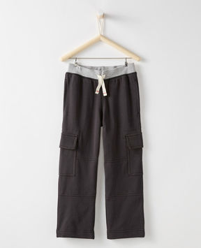 Hanna Andersson Bright Kids Basics Double Knee Cargo Sweats