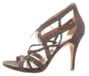 Sigerson Morrison Braided Multistrap Sandals