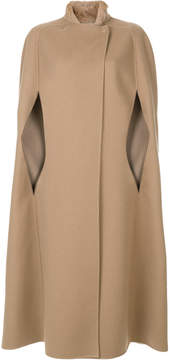 Agnona long cape coat