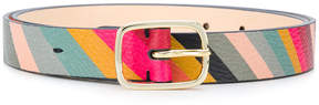 Paul Smith Swirl print belt