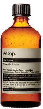 Aesop Breathless Massage Oil - 3.4 oz.