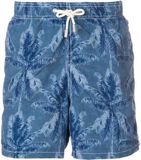 MC2 Saint Barth palm tree print swim shorts