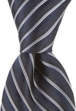 Murano Pin Stripe Narrow Silk Tie