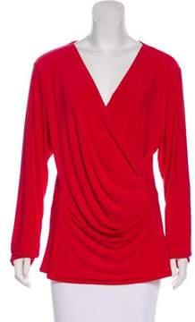 DKNY Draped Long sleeve Top