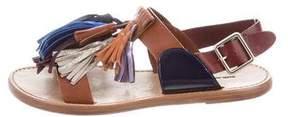 Etoile Isabel Marant Leather Tassel-Embellished Sandals