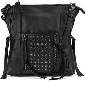 Kooba Black Eve Leather Crossbody Bag