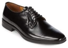 Bruno Magli Almond Toe Leather Derbys
