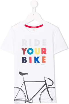 Paul Smith ride your bike T-shirt
