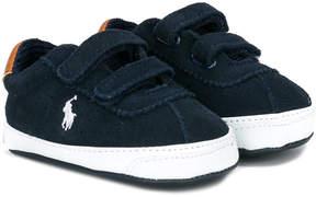 Ralph Lauren touch strap logo sneakers
