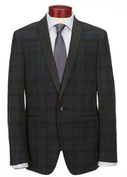 Murano Slim Shawl Collar Blackwatch Blazer
