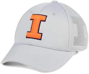 Top of the World Illinois Fighting Illini Light Gray Rails Flex Cap