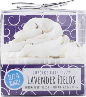 Fizz & Bubble Lavender Fields Bubble Bath Cupcake