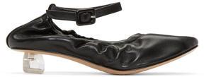 Simone Rocha Black Perspex Tooth Mini Heels