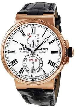 Ulysse Nardin Marine Chronometer Manufacture Automatic 18 kt Rose Gold Men's Watch 1186-122-40