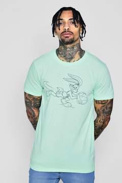boohoo Bugs Bunny Pastel T-Shirt