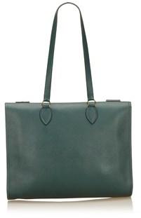 Hermes Pre-owned: Leather Shoulder Bag. - GREEN - STYLE