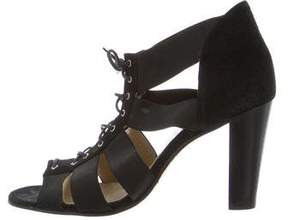 Opening Ceremony Suede Cage Sandals