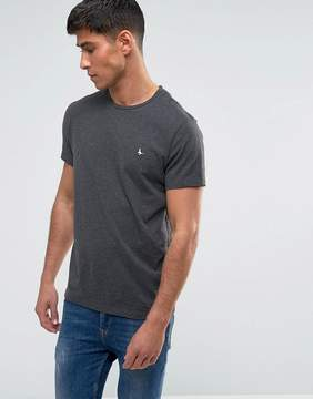 Jack Wills Sandleford T-Shirt In Charcoal