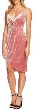 Cynthia Steffe Audrey Velvet Wrap Dress
