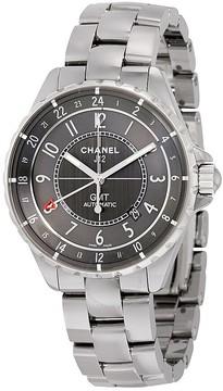 Chanel J12 Chromatic GMT Automatic Charcoal Titanium Ceramic Watch