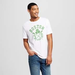 Awake Men's Boston 30 Crew T-Shirt - White