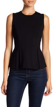 Adrienne Vittadini Sleeveless Inverted Pleat Top (Petite)