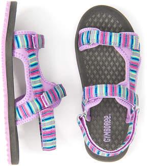 Gymboree Lilac Stripe Trek Sandal - Girls