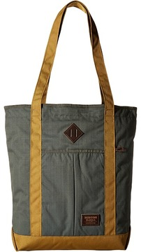 Burton - North/South Zip Crate Tote Tote Handbags
