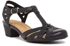 Rockport Nasira Leather Heel Sandal - Wide Width Available