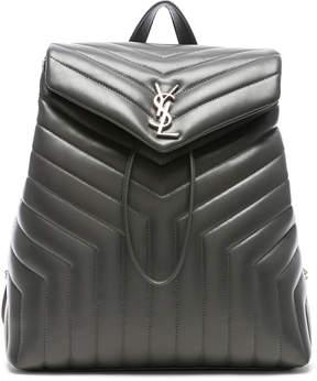 Saint Laurent Medium Supple Monogramme Loulou Backpack