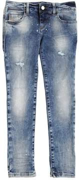 Diesel Skinny Splatter Stretch Denim Jeans