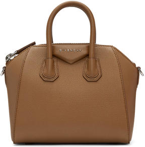 Givenchy Brown Mini Antigona Bag