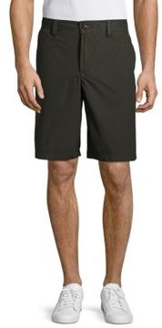 Weatherproof Solid Cotton Shorts