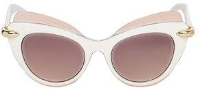 Betsey Johnson Top Shelf Cat Eye Sunglasses