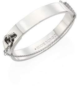 Eddie Borgo Medium Safety Chain Cuff/Silvertone